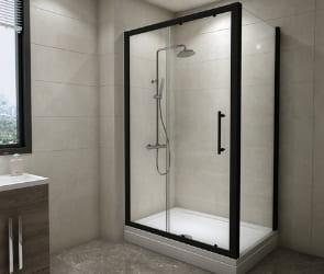 Buy Black Shower Enclosures