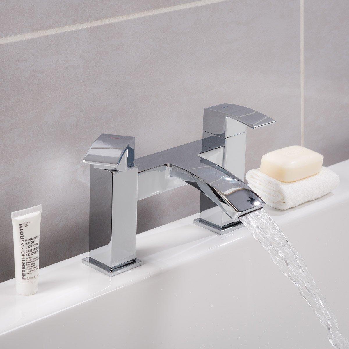 Modern Waterfall Bath Filler Bathroom