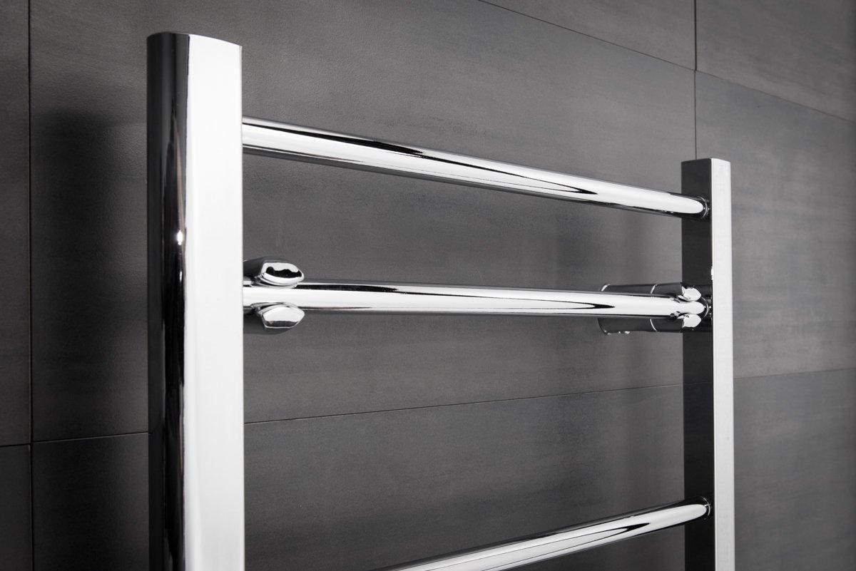 Bathroom Heated Towel Rail Radiator Straight Ladder Warmer ...