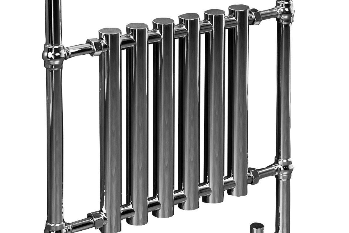 Traditional Bathroom Heated Towel Rail Column Victorian