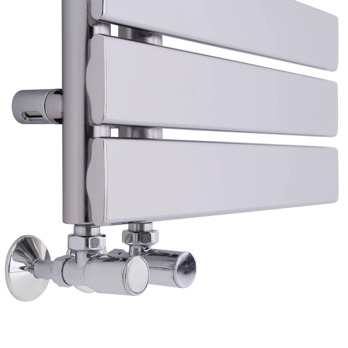 Heated Towel Rail Bathroom Radiator Designer Flat Panel ...