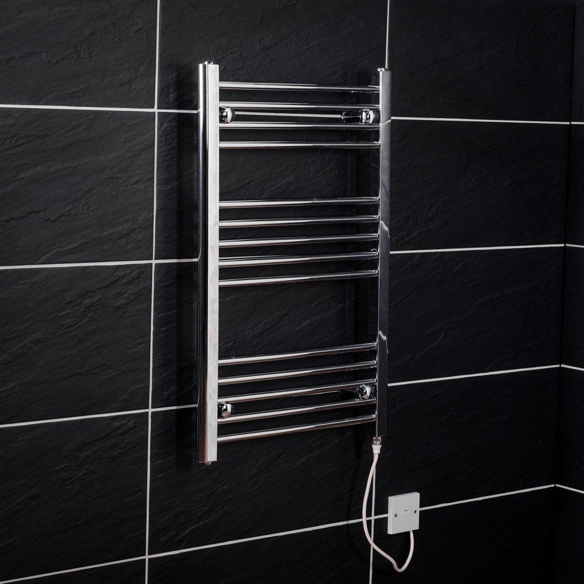 elektrischer handtuchw rmer heizung bad heizk rper elektro. Black Bedroom Furniture Sets. Home Design Ideas