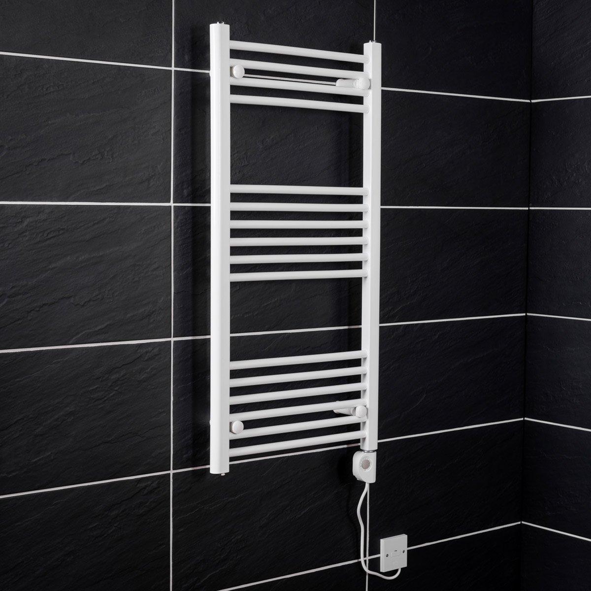 elektrischer handtuchheizk rper elektro badheizk rper bad. Black Bedroom Furniture Sets. Home Design Ideas