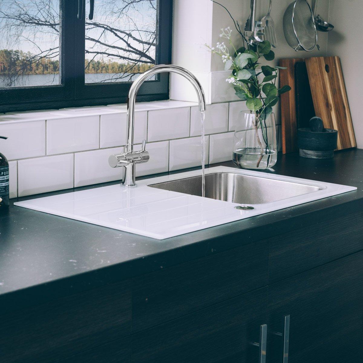 Stainless Steel Kitchen Sink 860mm