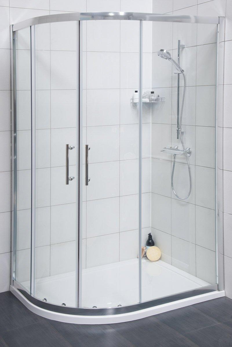Contemporary Offset Shower Enclosure
