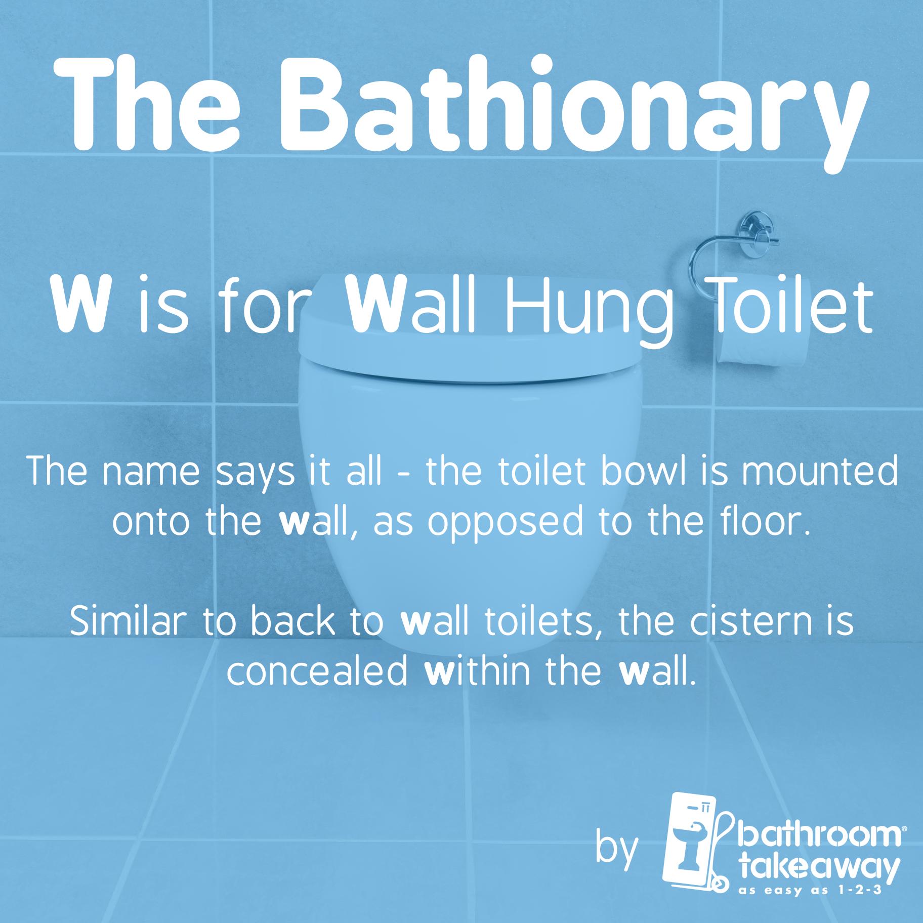 Bathroom Terminology