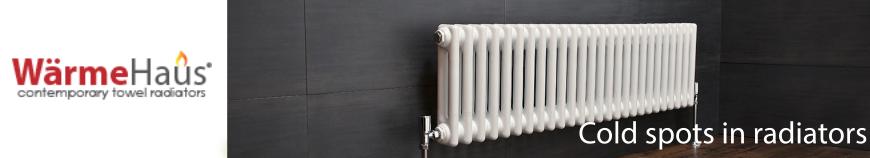 cold spots in radiators