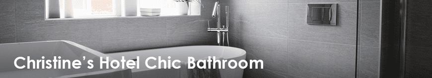 Hotel Chic Bathroom