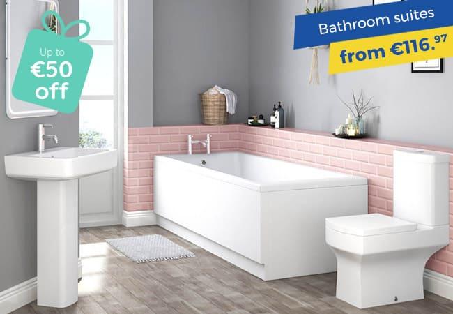 Irish Bank Holiday Deals On Bathroom Suites