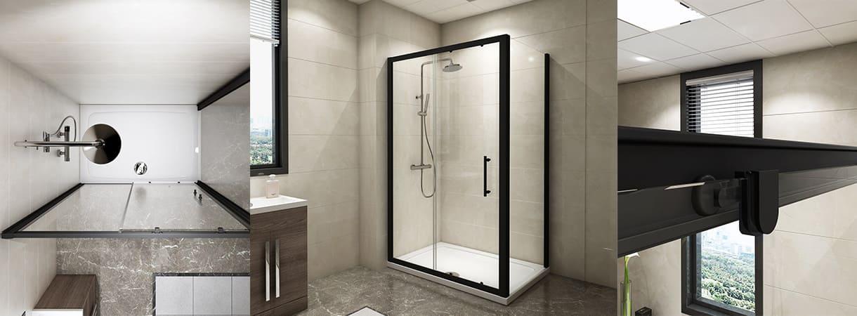 Black Shower Enclosure