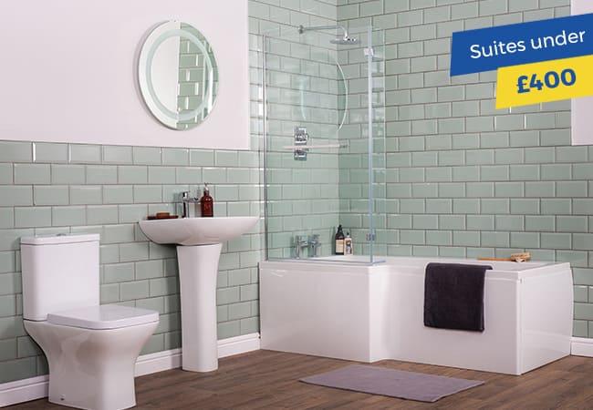 Bathroom Suites under £400