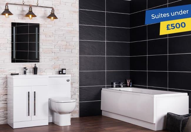 Bathroom Suites under £500