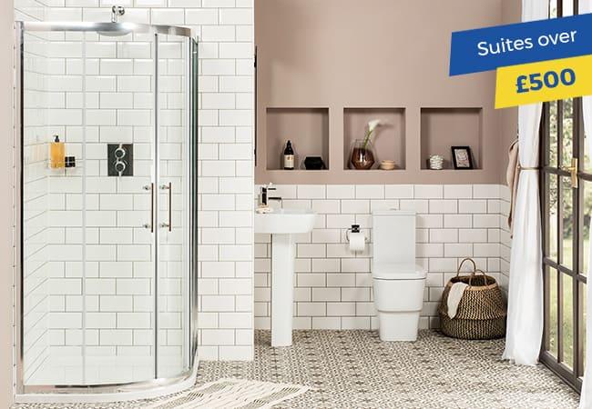 Bathroom Suites over £500